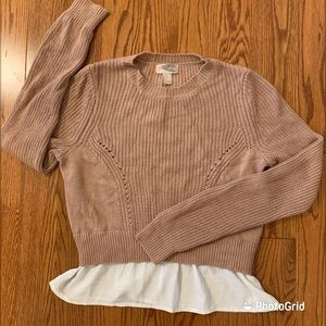 Forever 21 blush colour sweater